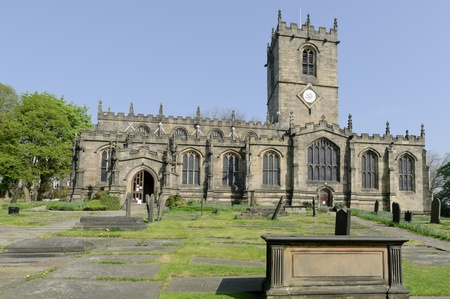 Church of St. Mary buit in 1478AD in the village of Ecclesfield England