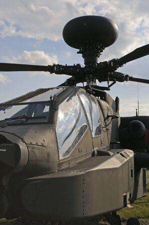 raf waddington: WADDINGTON, ENGLAND, UK - JULY 2: Apache Longbow attack helicopter at Waddington International Air Show on July 2, 2011 in Waddington, England, UK.