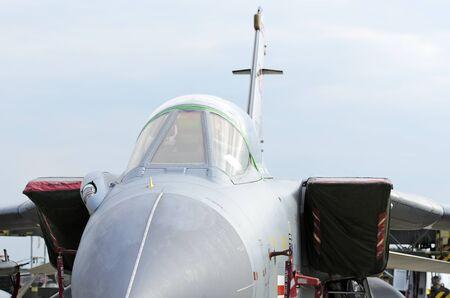 raf waddington: WADDINGTON, ENGLAND, UK - JULY 3: Tornado GR4 from XV(R) Squadron RAF at Waddington on July 3, 2011 in Waddington, England, UK.