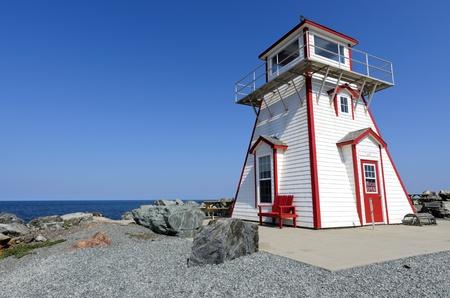 scotia: Arisaig Lighthouse in Antigonish County Nova Scotia Canada Stock Photo