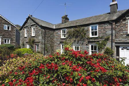Cottage in Grasmere village Lake District National Park England Stock Photo - 11175447
