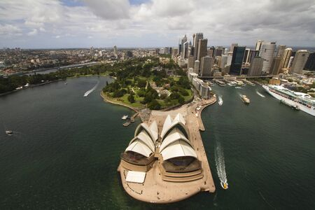 Sydney city from the air