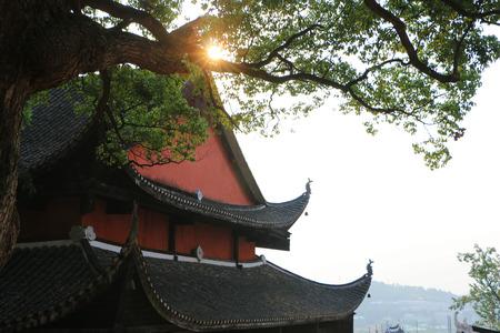 China Yongzhou Confucian Temple close-up