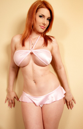 sexy breast: Portrait of sexy lingerie woman with perfect body Stock Photo