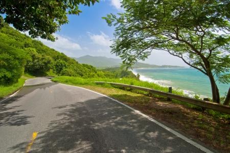 in oostelijke richting op de zuidelijke weg van Puerto Rico een