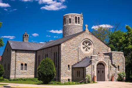the fort snelling veterans memorial chapel, fort snelling state partk, minnesota