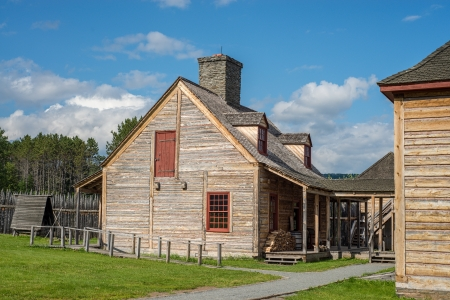 portage: the kitchen building at grand portage national monument