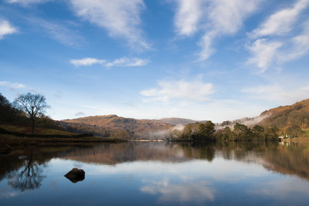 cumbria: Lake district in national park cumbria, england Stock Photo