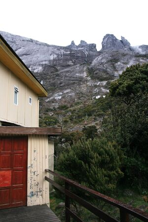 accomodation: Laban Rata Hut on Mount Kinabalu