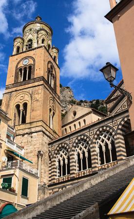 Amalfi Church Stock Photo
