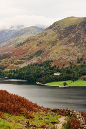 lake district: Classic Lake District Scene, England Stock Photo