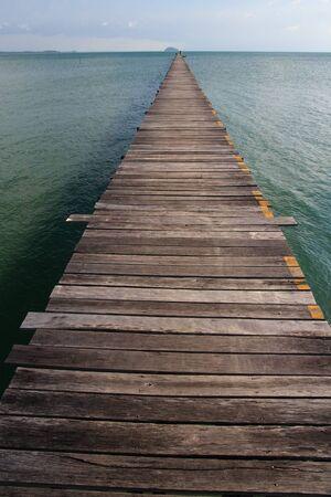 Long Woodon Pier