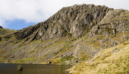 langdale: Lake District Stickle Tarn and Jakes Rake, Langdale Valley