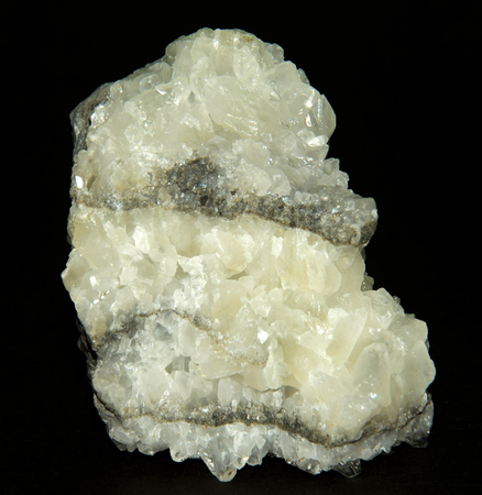 calcite: Geological Specimen; Calcite. Stock Photo
