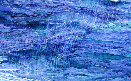 unmatched: Natures own unique designs, unmatched by man.Blue Abstract backdrop.Abstract from nature own designs.