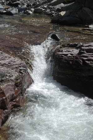 rockies: Mountain stream in the Rockies,
