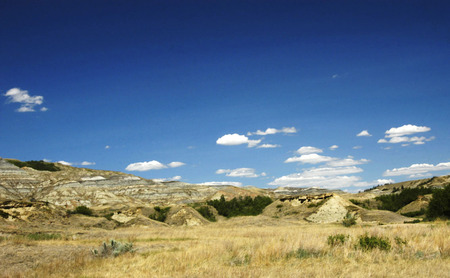 alberta: Badlands, Alberta, Canada.