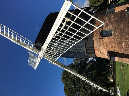 Windmill in Avoncroft, Bromsgrove, Worcestershire