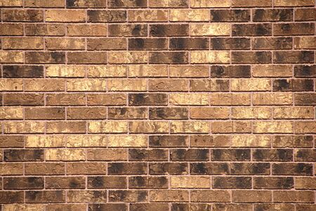 brick: Brown Brick Wall Background Stock Photo