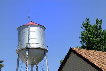 municipal utilities: Old Water Tower Stock Photo
