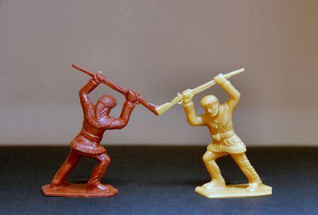pioneers: Two Fighting Toy Pioneers
