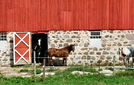 Red Barn, Double  photo