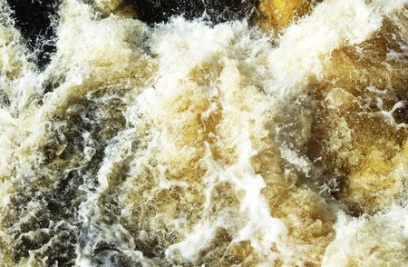 rapidly: Close-up of Rapidly Running Water