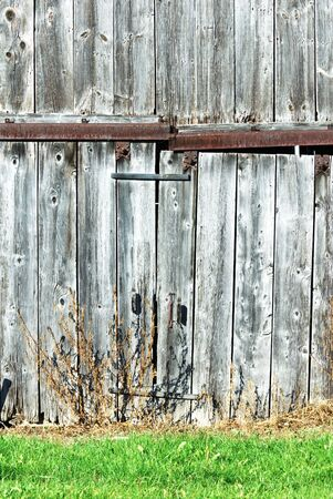 Old, Weathered Side of the Barn photo