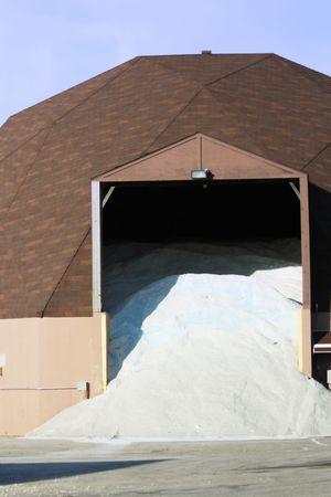 道路の塩の貯蔵の小屋
