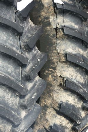 treads: Two Tractor Tire Treads