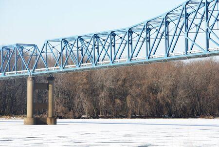 Blue Bridge over Snowy River photo