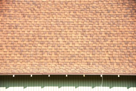 Roof Shingles and Shadow
