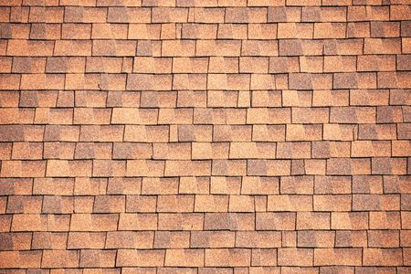 roof shingles: Brown Roof Shingles Background