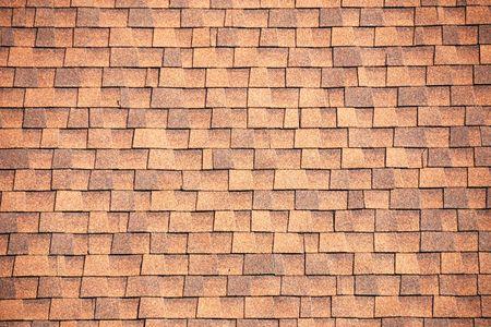 Brown Roof Shingles Contesto Archivio Fotografico - 4914554