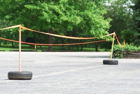 barrier: Ribbon Safety Barrier
