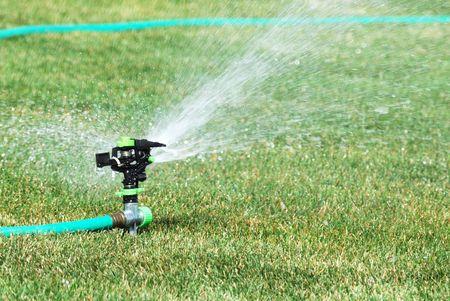 lawn sprinkler: Lawn Sprinkler with Hose