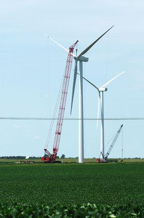 Windmill Under Construction photo