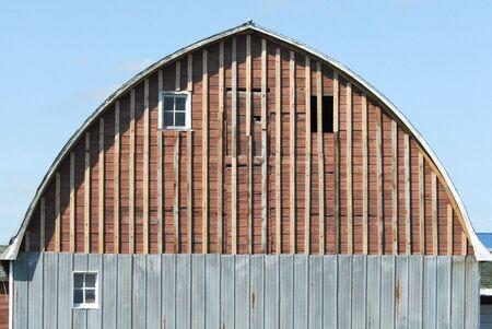 Barn with No Siding Stock Photo - 6695301