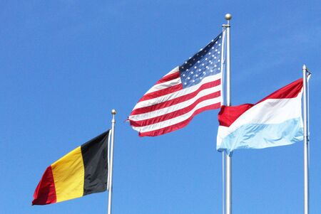 Three Flags Stock Photo - 6695302