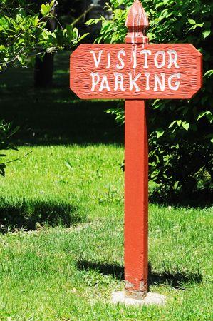 Bezoekersparkeerbord