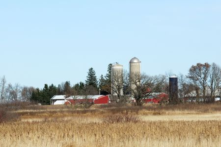 Farm and Brown Field photo