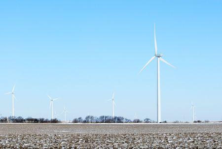 Windmill Farm Stock Photo - 7323402