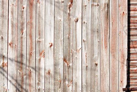 knothole: Weathered Side of Barn