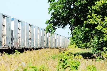 freight train: Passing Freight Train
