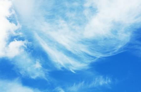 Whispy Clouds Stok Fotoğraf