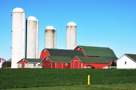 silo: Farm Buildings