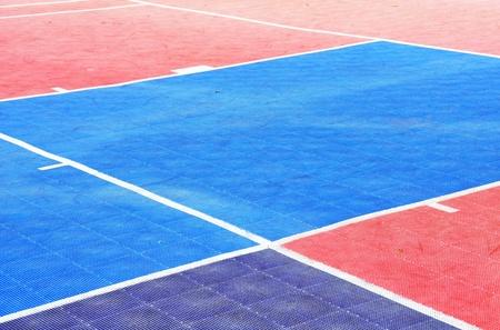 Tile Basketball Court photo