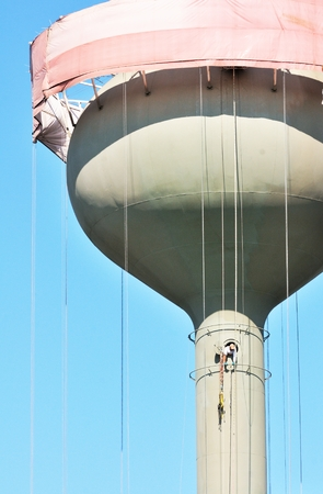 Water Tower Worker