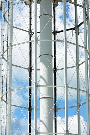 Water Tower Structure Stock Photo