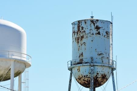 municipal utilities: Two Water Tanks